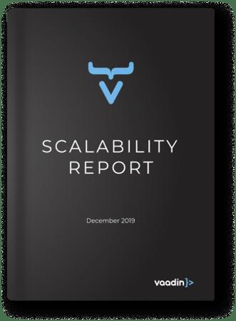 Vaadin 14 Scalability Report - December 2019