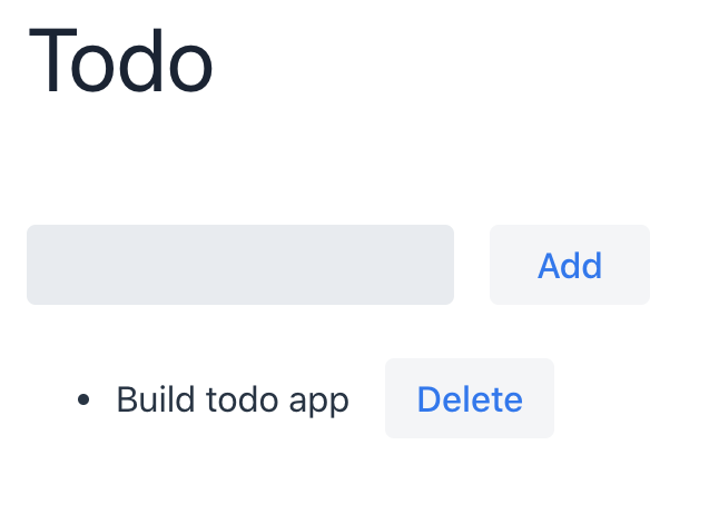 Todo app built with Vaadin