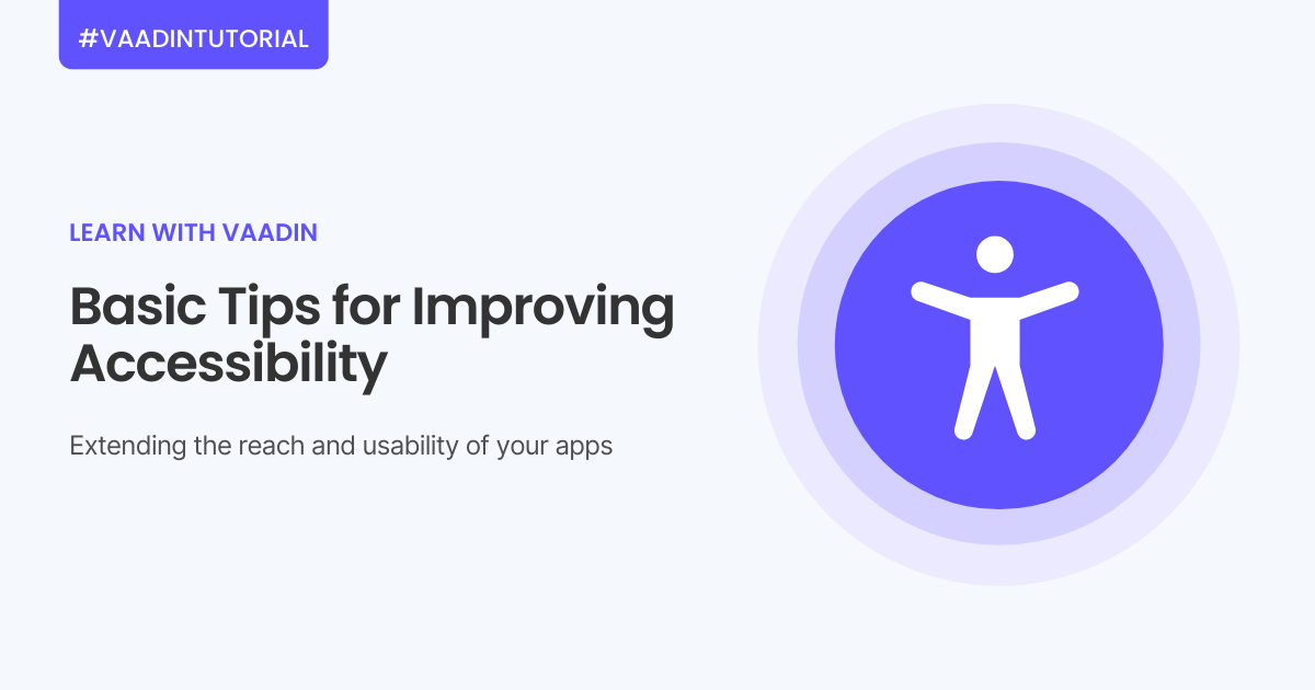 tips for improving web app accessibility